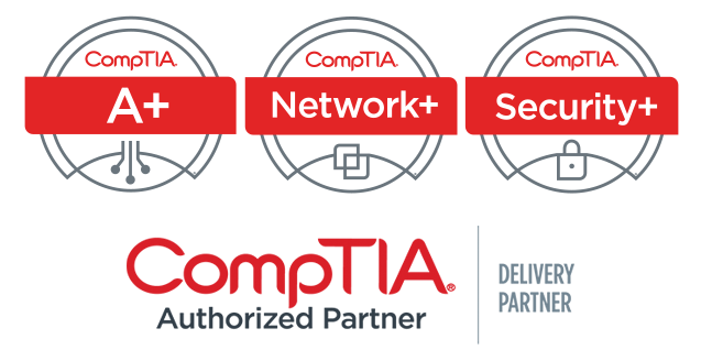 CompTIA A+, Network+, Security+ Authorized Training Partner